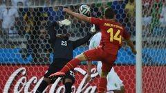 Бельгия одержала волевую победу над Алжиром