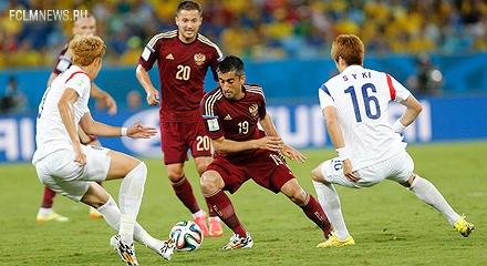 Александр Самедов сыграл против Южной Кореи