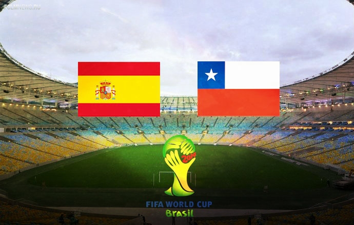 ЧМ-2014. Сборная Испании сложила с себя полномочия чемпиона мира