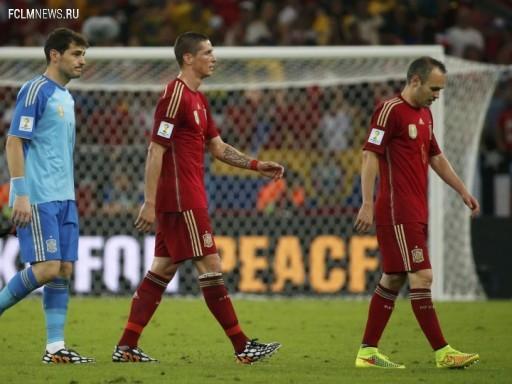 Испания – Чили (0:2)