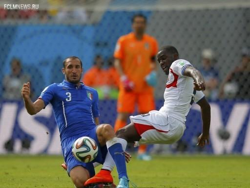 Коста-Рика обыграла Италию и вышла в плей-офф Источник: Reuters
