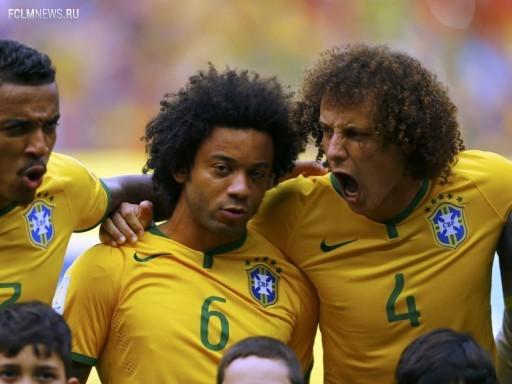 Игроки сборной Бразилии Источник: Reuters