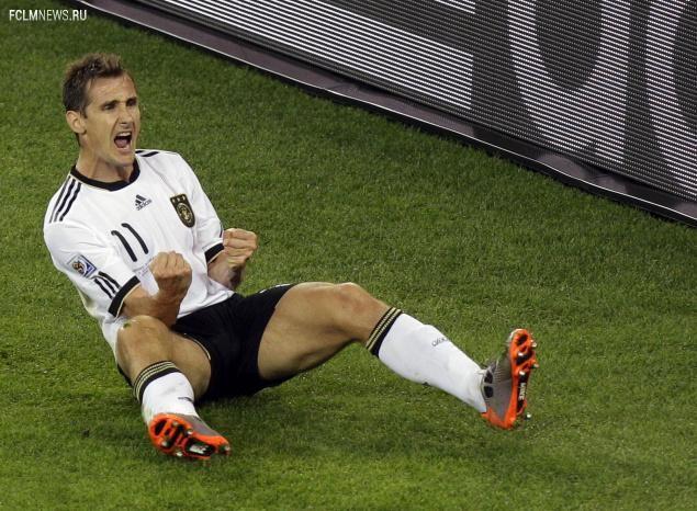 Клозе повторил рекорд Роналдо по количеству голов на чемпионатах мира