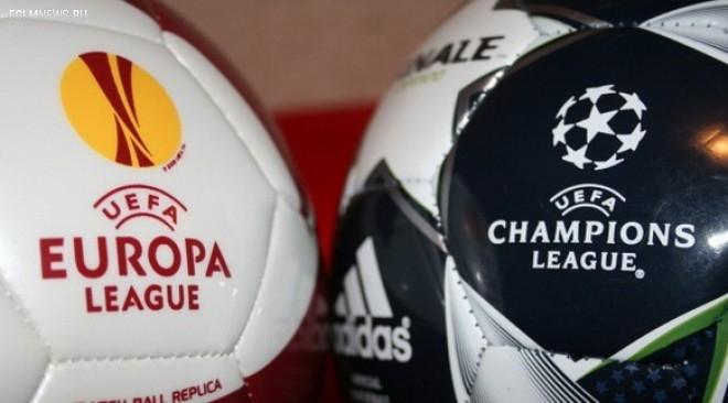 Сегодня состоится жеребьевка 1-го и 2-го квалификационных раундов Лиги чемпионов и Лиги Европы