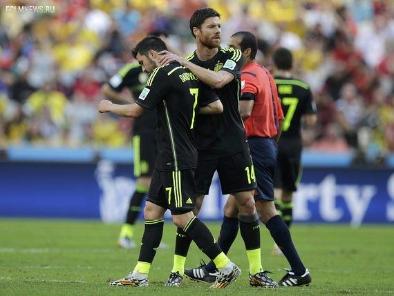 Вслед за Вильей сборную покинет Хаби Алонсо? Источник: Reuters