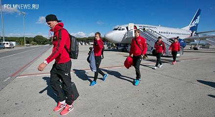 «Локомотив» прибыл в Австрию