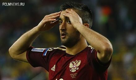 Самедов сыграл за сборную в последнем матче ЧМ-2014