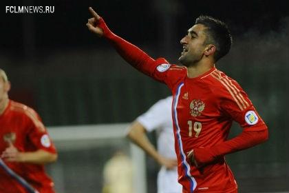 Александр Самедов лучший игрок в матче со сборной Алжира