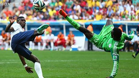 ЧМ-2014. Франция выходит в 1/4 финала