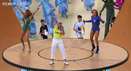 Открытие Чемпионата мира по футболу 2014