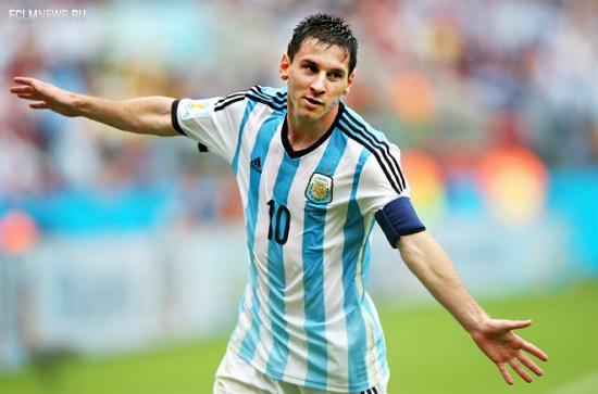 Аргентина обыграла Нигерию на чемпионате мира — 2014 по футболу