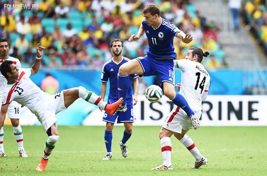 Босния и Герцеговина выиграла у Ирана на чемпионате мира — 2014 по футболу