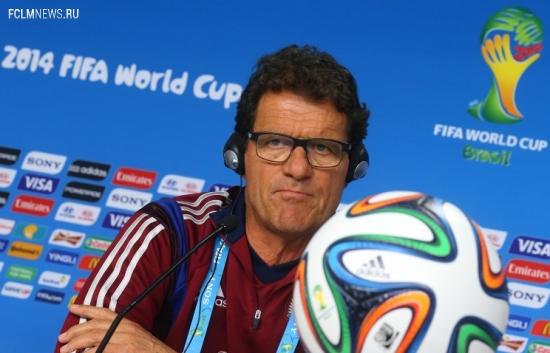 Фабио Капелло: сборная России добьется своего, если сделает упор на слабые места алжирцев