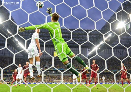 Россия сыграла вничью с Алжиром и не смогла выйти в плей-офф чемпионата мира