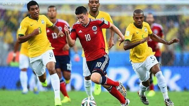 ЧМ-2014. Бразилия выходит в полуфинал