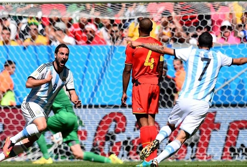 ЧМ-2014. Аргентина выходит в полуфинал