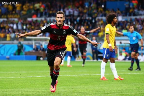 Клозе стал лучшим бомбардиром в истории чемпионатов мира