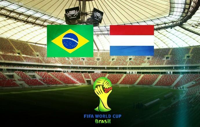 ЧМ-2014. Голландия разгромила Бразилию в матче за 3 место