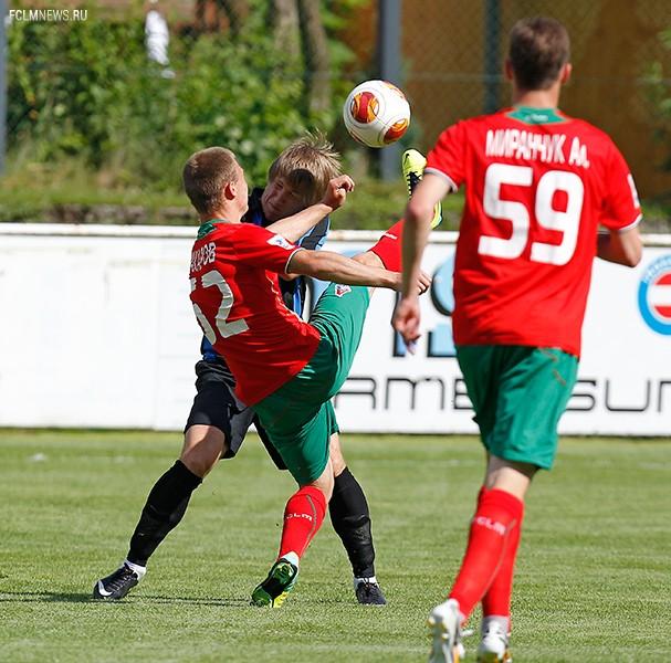Локомотив» - «Черноморец» 2:1