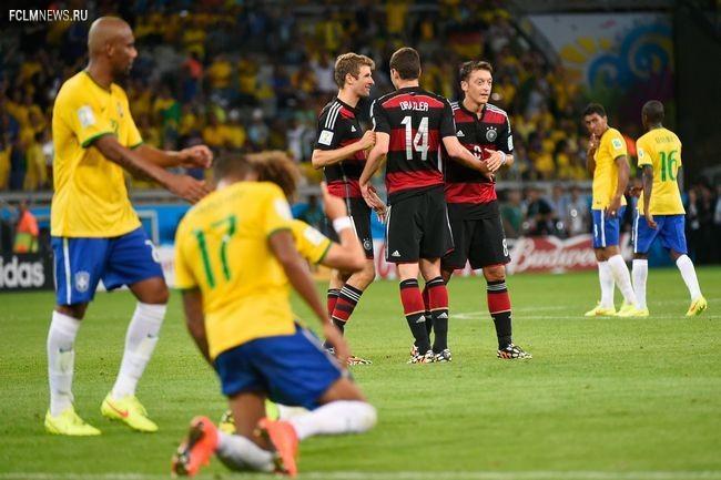 Бразилия – Германия – 1:7