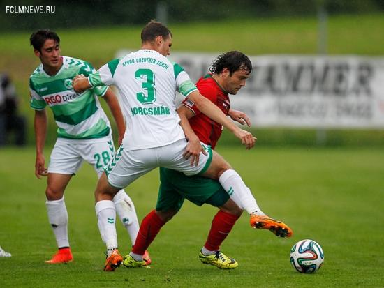 «Локомотив» - «Гройтер» 0:2