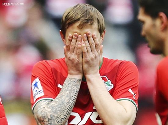 «Локомотив» вновь не сдал немецкий тест, «Локомотив» уступил «Гройтер Фюрту» - 0:2