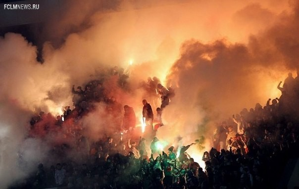 Григорьянц: одна зажжённая единица пиротехники обойдётся клубу в 10 тыс. рублей