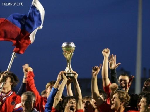 Сборная России, победитель юношеского чемпионата Европы-2006