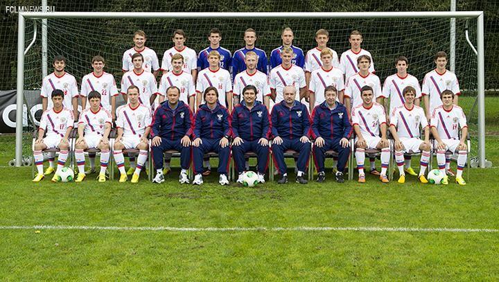 Объявлен состав молодежной сборной России