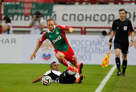 «Локомотив» - «Краснодар» 0:0