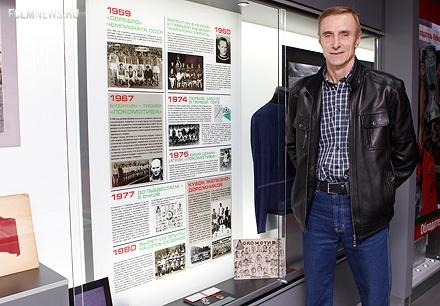Сергей Бабурин побывал в музее «Локомотива»