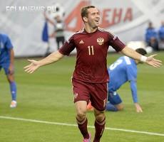 Сборная России победила Азербайджан со счетом 4:0