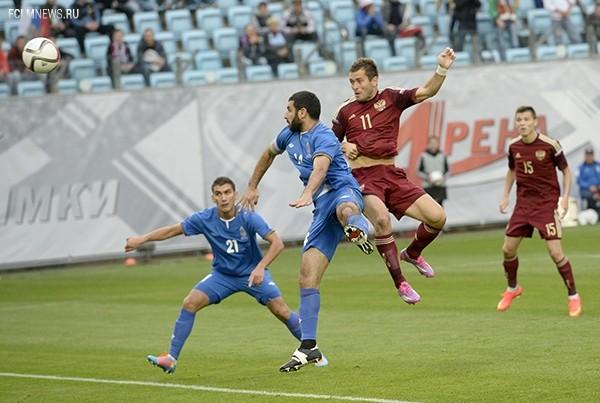 Россия - Азербайджан - 4:0 (3:0)