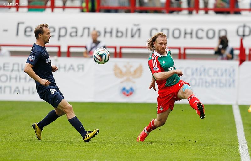 «Локомотив» - «Мордовия» 1:1