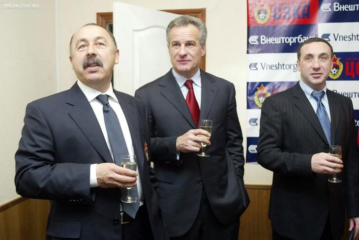 Евгений Гинер увольнял Валерия Газзаева