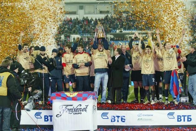 ЦСКА — чемпион России 2006 года. Фото ИТАР-ТАСС.