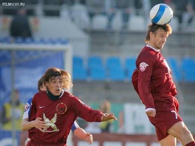 Футболисты «Рубин» Саво Милошевич и Сергей Семак (слева направо). Фото ИТАР-ТАСС.