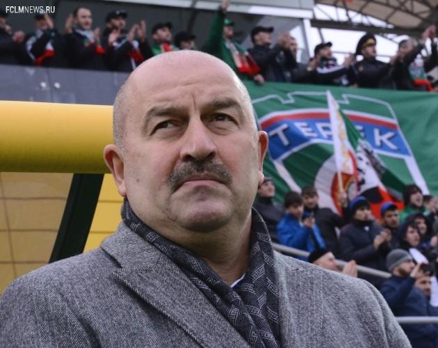 Станислав Черчесов успел полидировать с чемпионате с «Тереком». Фото ИТАР-ТАСС.