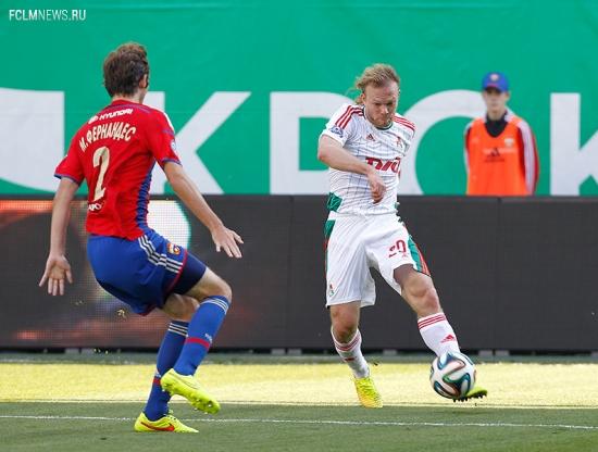 ЦСКА – «Локомотив» 1:0