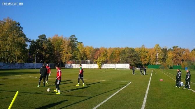 Гильерме пропускает тренировку «Локомотива»
