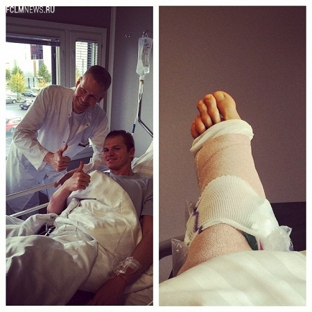 Дмитрий Тарасов перенес операцию