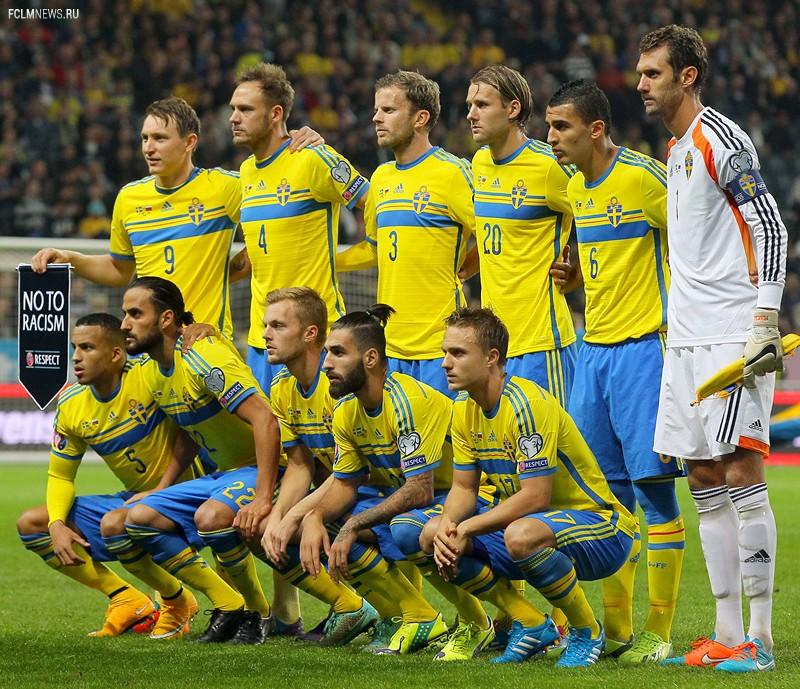 Лучшие фотографии с матча Швеция - Россия