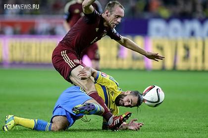 Шведские СМИ обвинили игрока сборной России в недостойном поведении