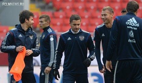 Футболисты сборной России проэкзаменуют команду Молдавии