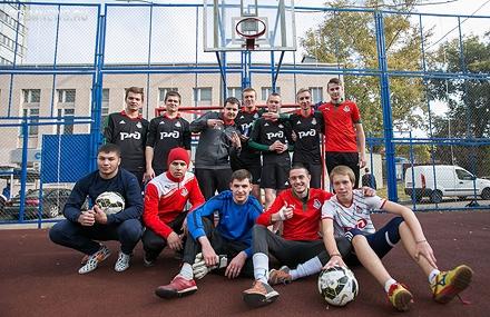 ФК «Локомотив» разыграл призы на турнире Red Bull 300