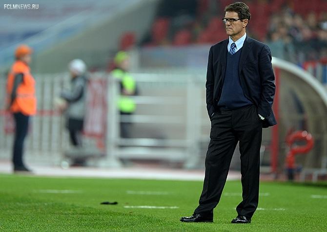 Фабио Капелло: «Замены я сделал правильные»