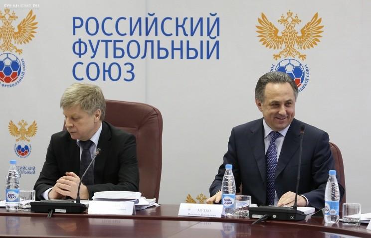 Николай Толстых (слева) и Виталий Мутко© ИТАР-ТАСС/ Антон Новодережкин