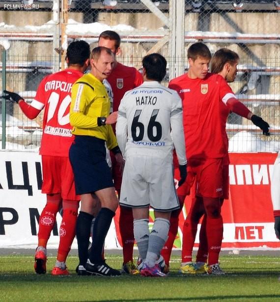 В матче против «Уфы» ЦСКА бил пенальти дважды Источник: Sovsport.ru