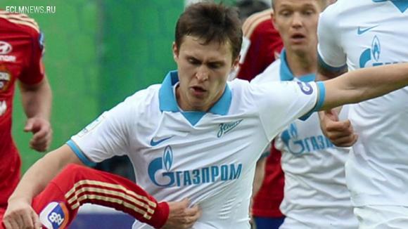 Полузащитник «Зенита» может продолжить карьеру в московском клубе