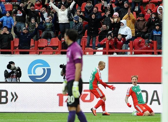 «Локомотив» отправил «Динамо» в глубокий нокаут